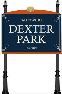 Dexter Park sign
