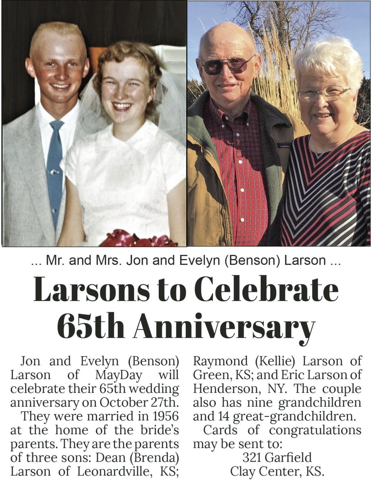 Larsons 65th Anniversary