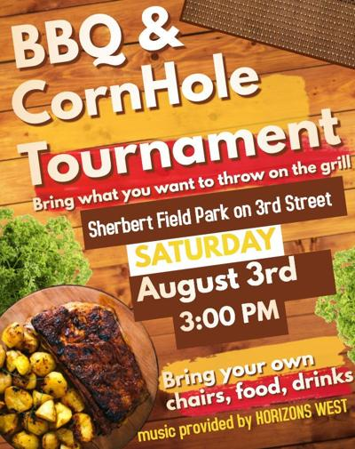 BBQ and corn hole tournament