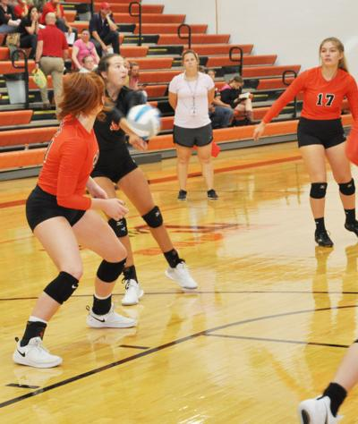 Tiger volleyball split in home opener