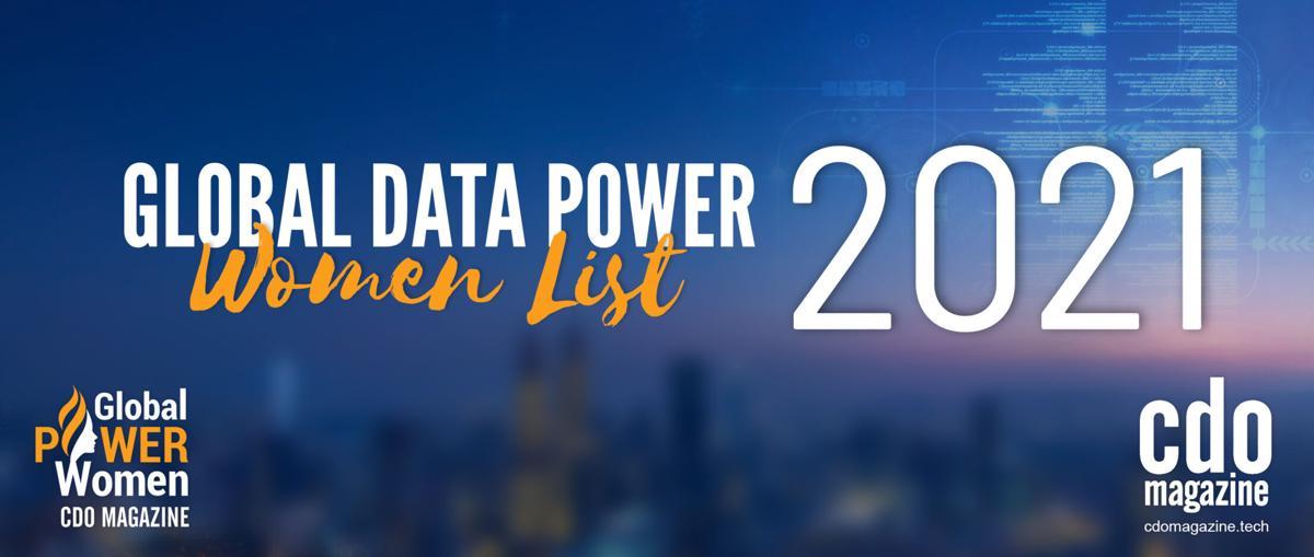 CDO Magazine Announces Its 2021 List of Global Data Power Women