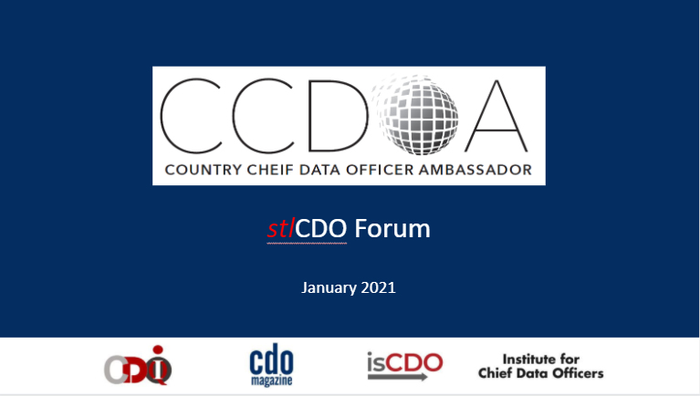 CCDOA and STL Forum Overview