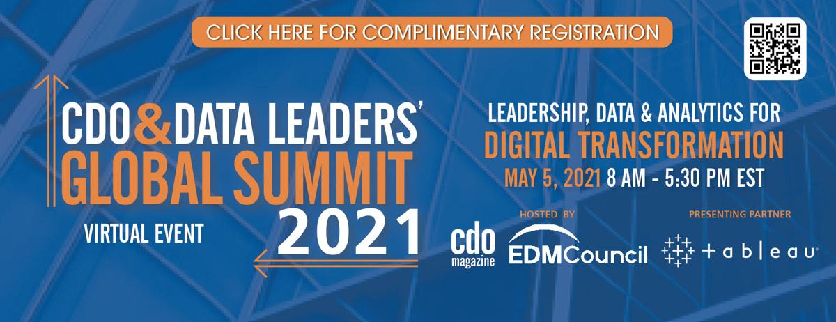 Global CDO & Data Leaders' Summit 2021