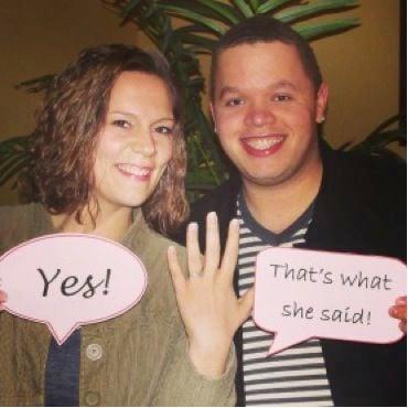 Brittany Schutzman and Dana Riley Engagement