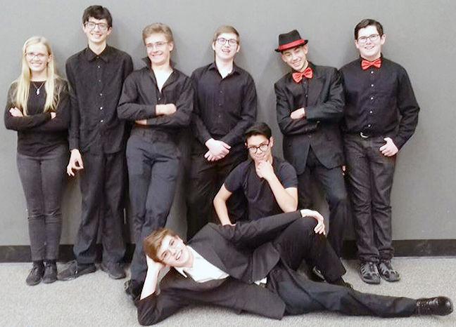 BVHS jazz students