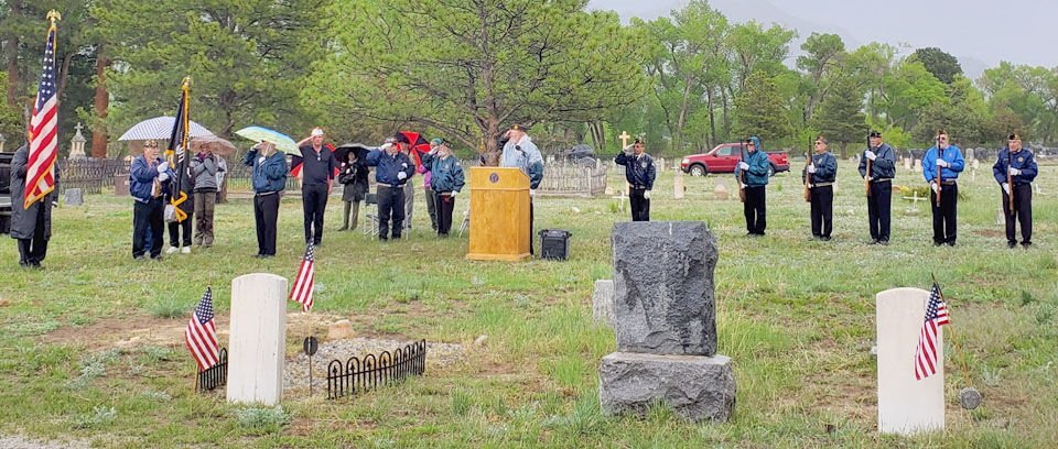 Memorial Day service presented by American Legion Post 55