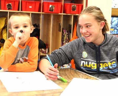 Teaguen Goodwin and Nina Riley