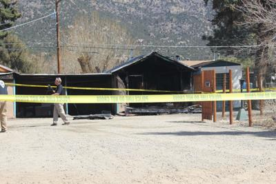 Fire at Pinon Court Cabins