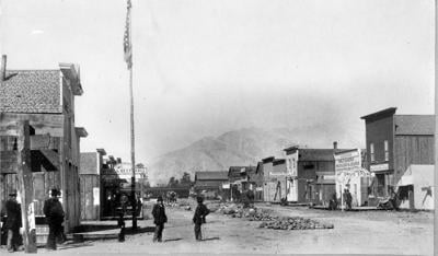 Main Street Buena Vista, 1881-82