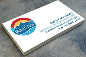 Branding bv plan moves forward the chaffee county times news buena vista business card reheart Images