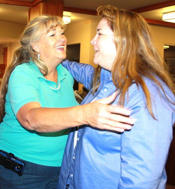 Brenda Troudt and Julie Hickens
