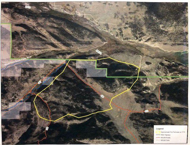 Weston Pass fire update map | | chaffeecountytimes.com
