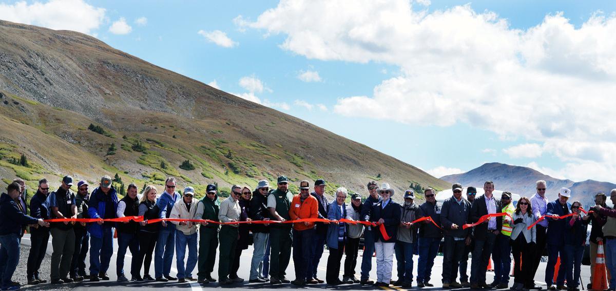 Cottonwood Pass project cuts ribbon