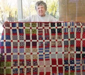 Quilts of Valor serves veterans with homespun comfort - The ... : homespun quilts - Adamdwight.com