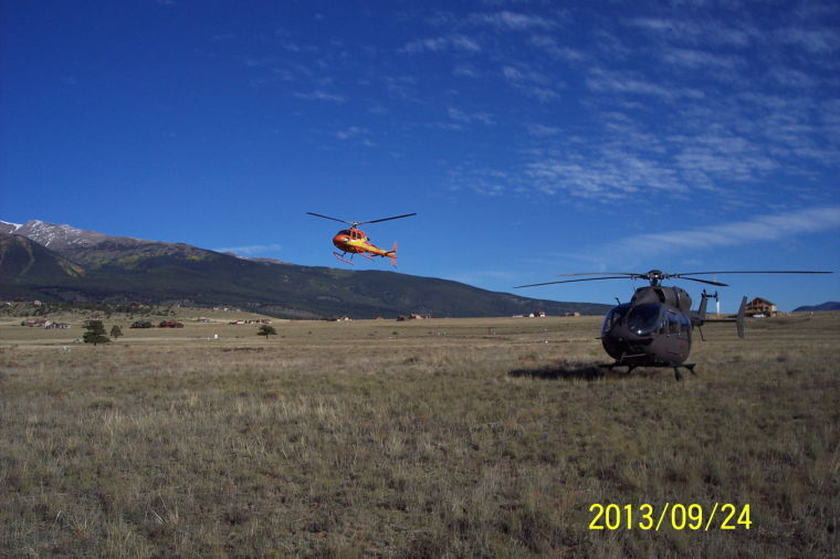 Search and rescue helicopters