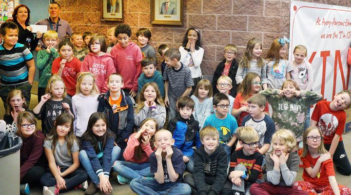 Third grade Read-a-Thon benefits Boys & Girls Club