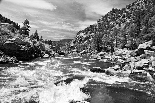Rapids through Browns Canyon