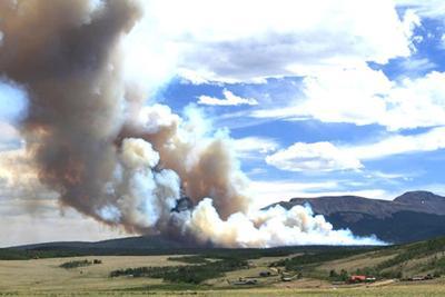 The Weston Pass Fire
