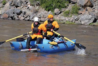 Search and rescue crew
