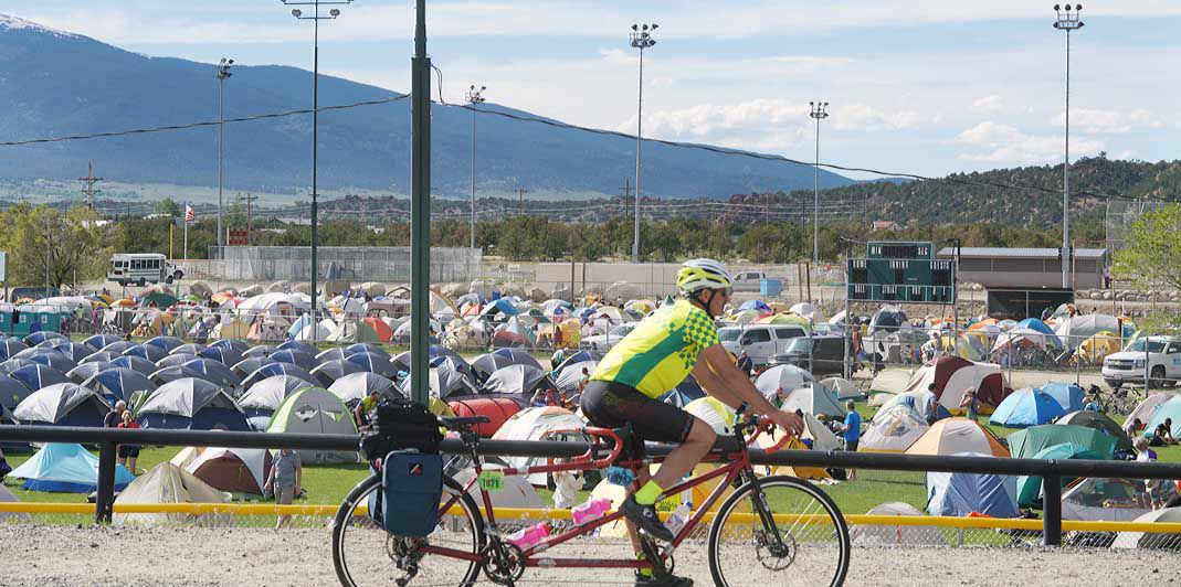 Ride the Rockies tents