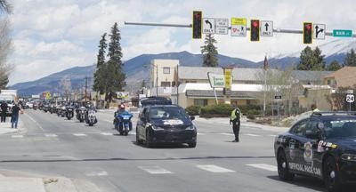 Kyle Petty Charity Ride Across America motorcade