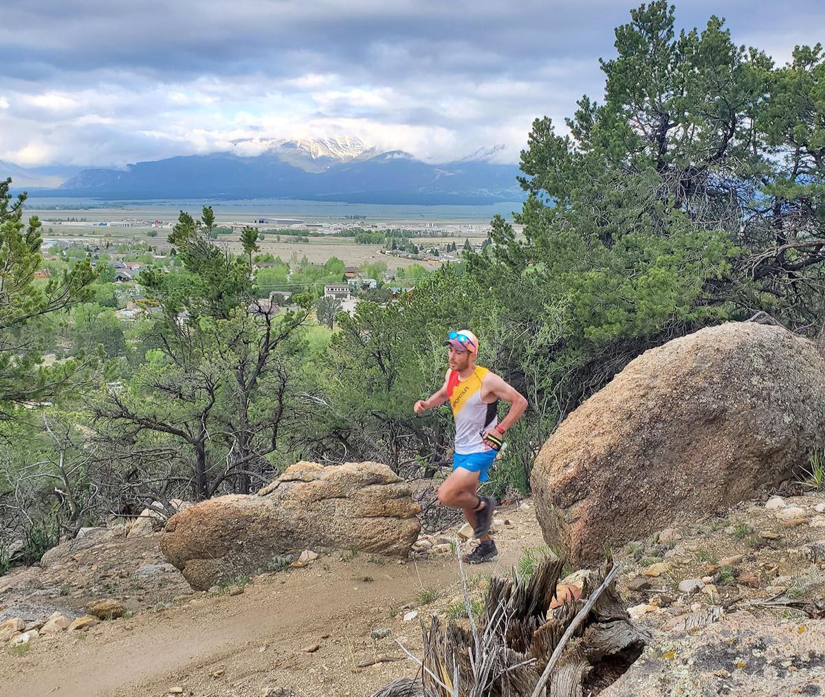 Marathon winner Dean Abel