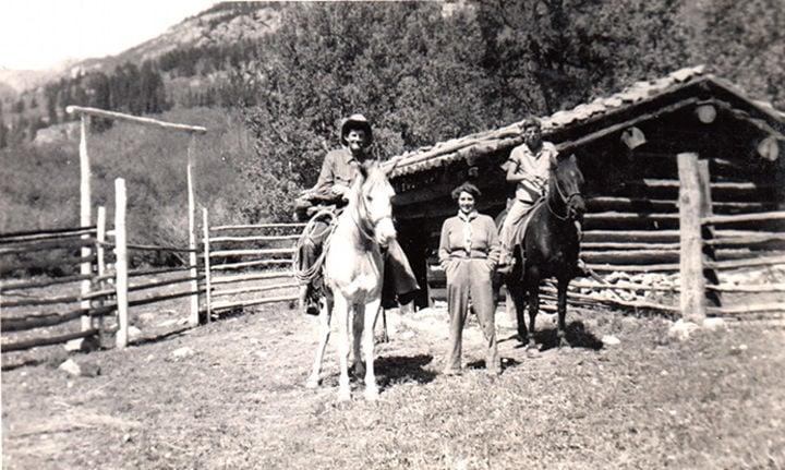 Harry Littlejohn's cabin