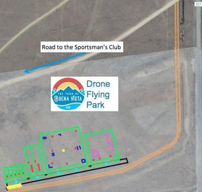 Drone Park map