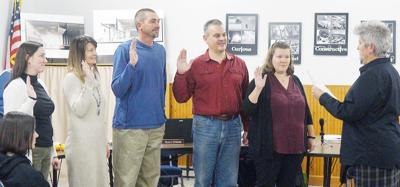 School board sworn in