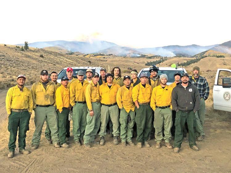 Chloeta Fire crew