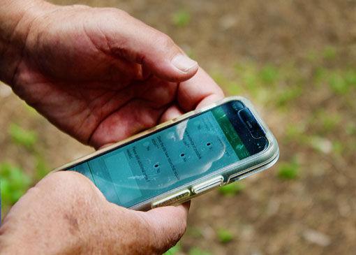 Survey123-Campsite Collector App