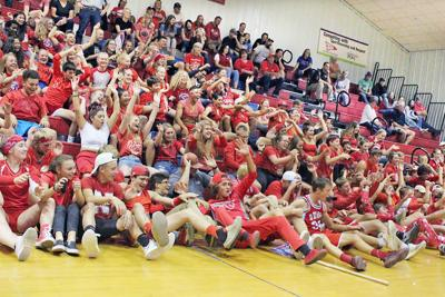 Demon student section