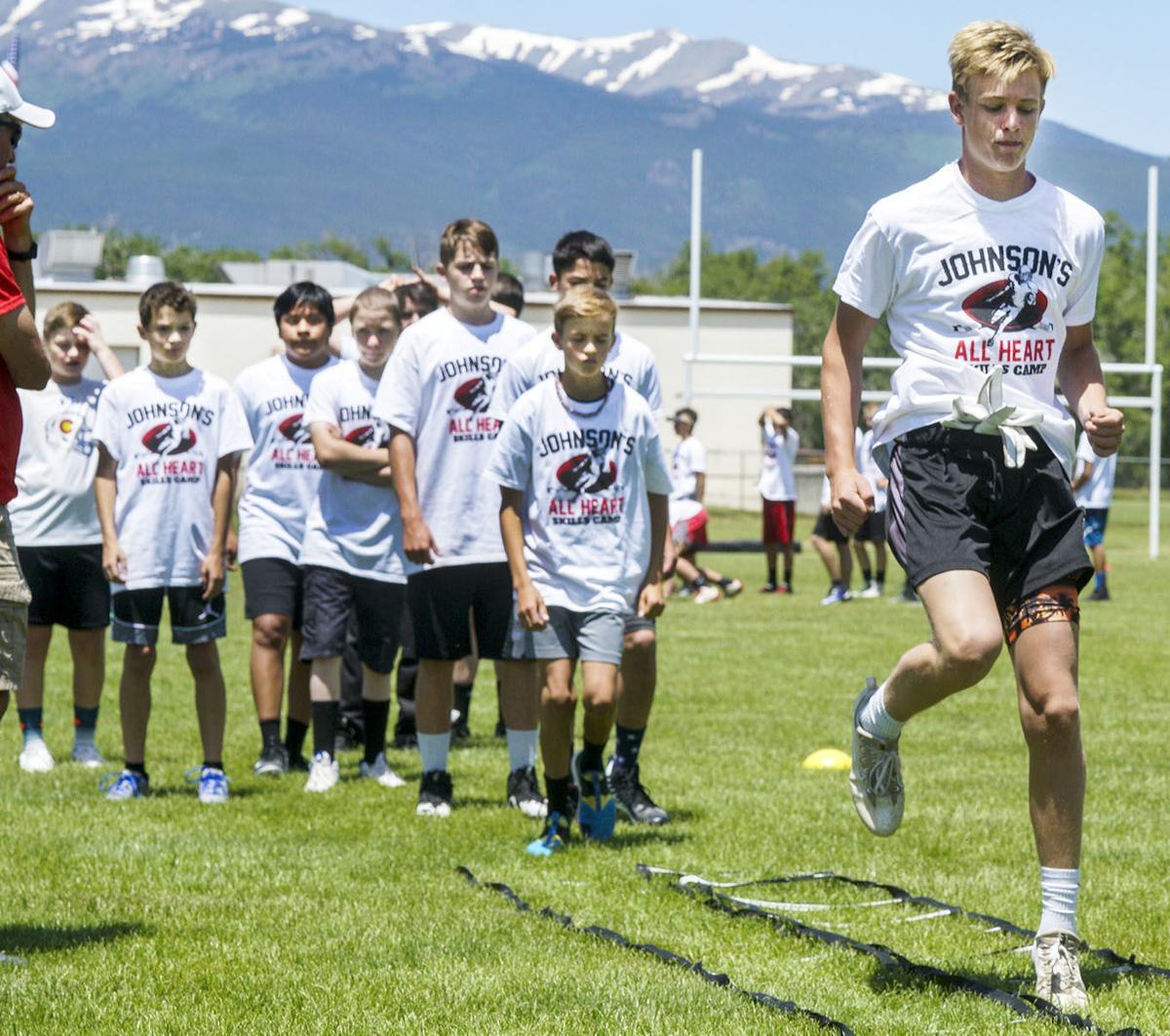 Johnson's All Heart camp