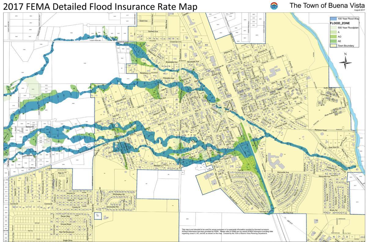 Floodplain Insurance Map | | chaffeecountytimes.com on
