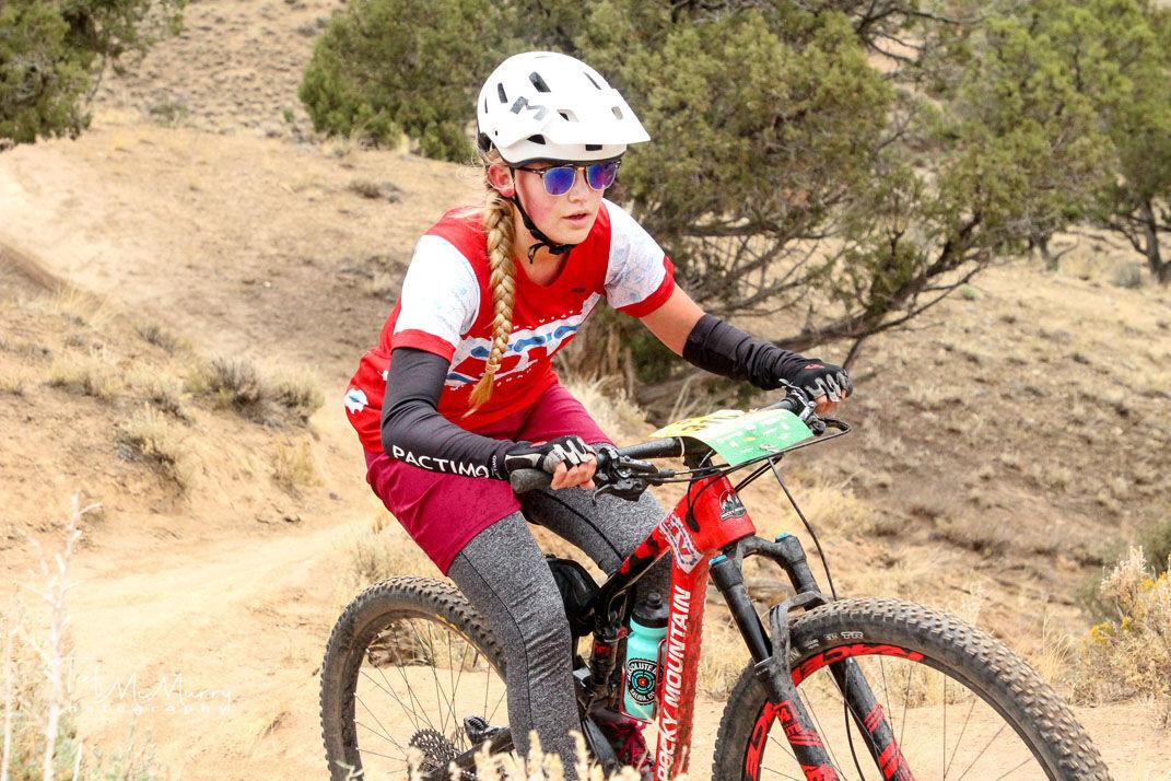 Elena Dunn rides