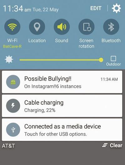 BullyAlert app