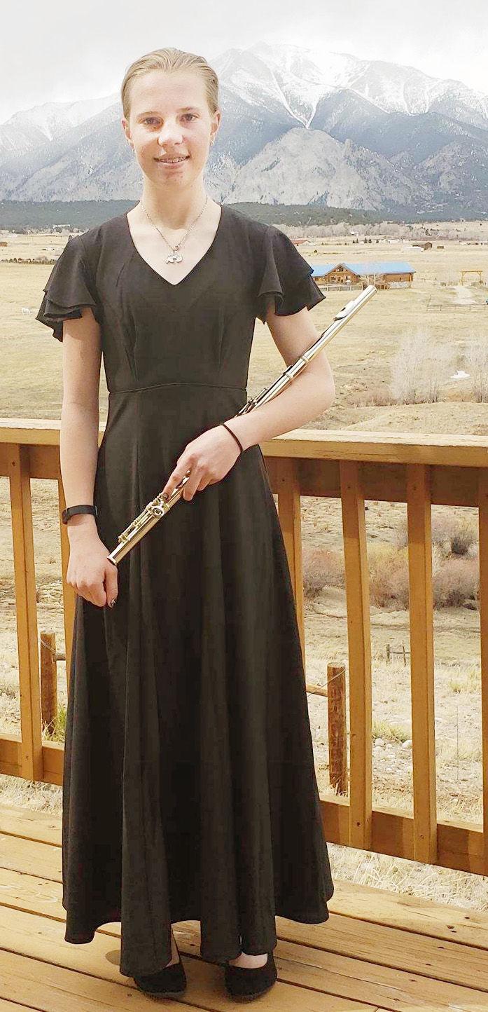 Rosalyne Cope flute