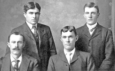 The four Hutchinson brothers