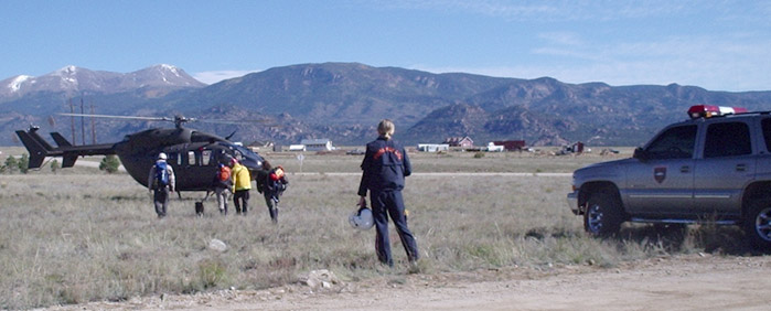 Search teams head out