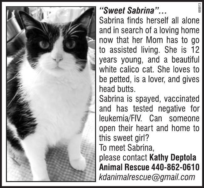 Sabrina!
