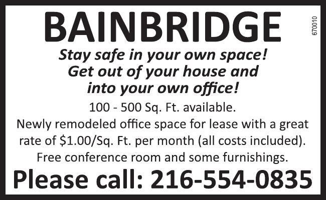 Bainbridge Office Space for Rent