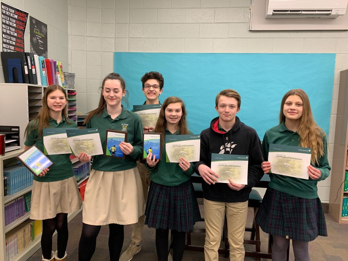 St. Helen students show awards