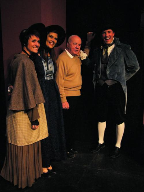 cast of a christmas carol the musical pose friday with tim conway - Christmas In Conway Cast