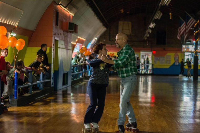 Waltz at the Chagrin Valley Roller Rink