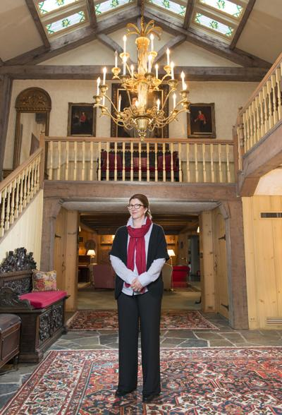 Roundwood Manor owner Sylvia Korey