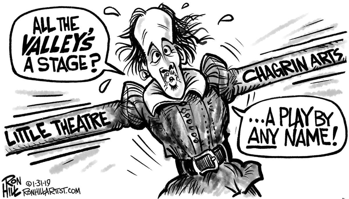 Chagrin Valley Cartoon Shakespeare