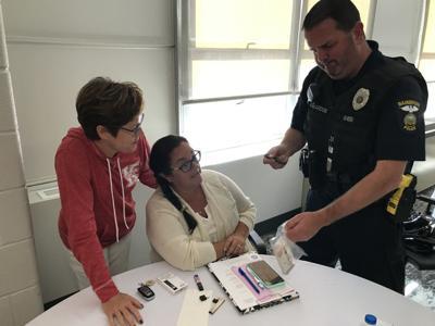 Officer Reardon e-cigs