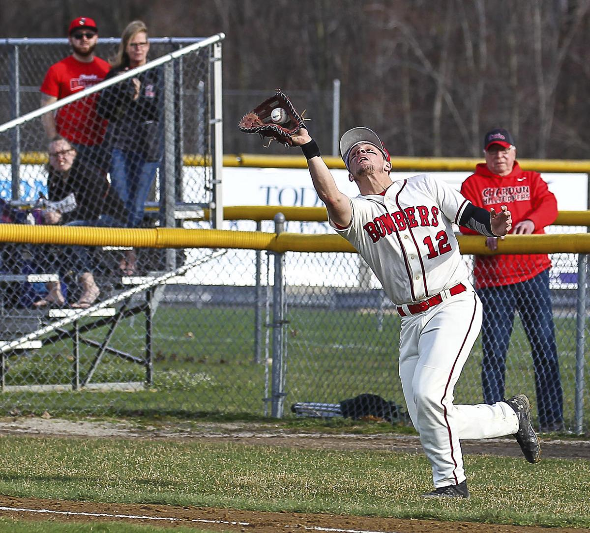 Bomber Sluggers Win Four Straight Halted By Chardon Chardon Chagrinvalleytoday Com