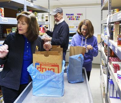 Thanksgiving profile: Roland Lufkin embraces mission of Bainbridge food pantry