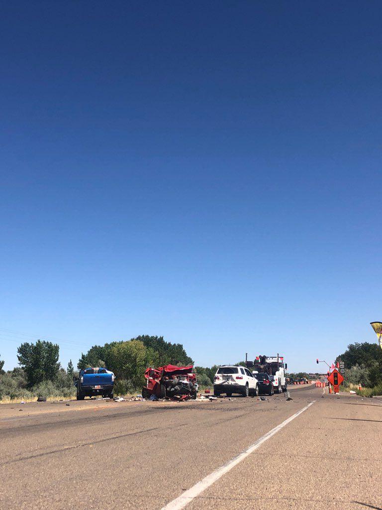 Highway 40 Crash 2 - August 27, 2019